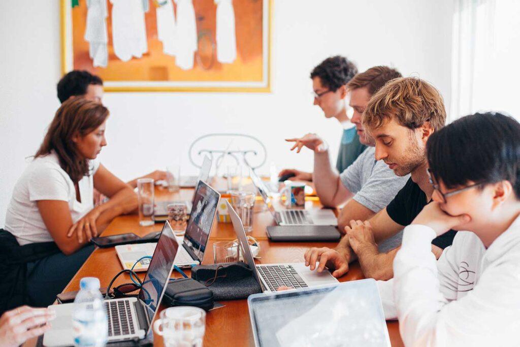 SaaS Marketing Team